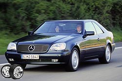 Эволюция Mercedes-Benz S-class Coupe