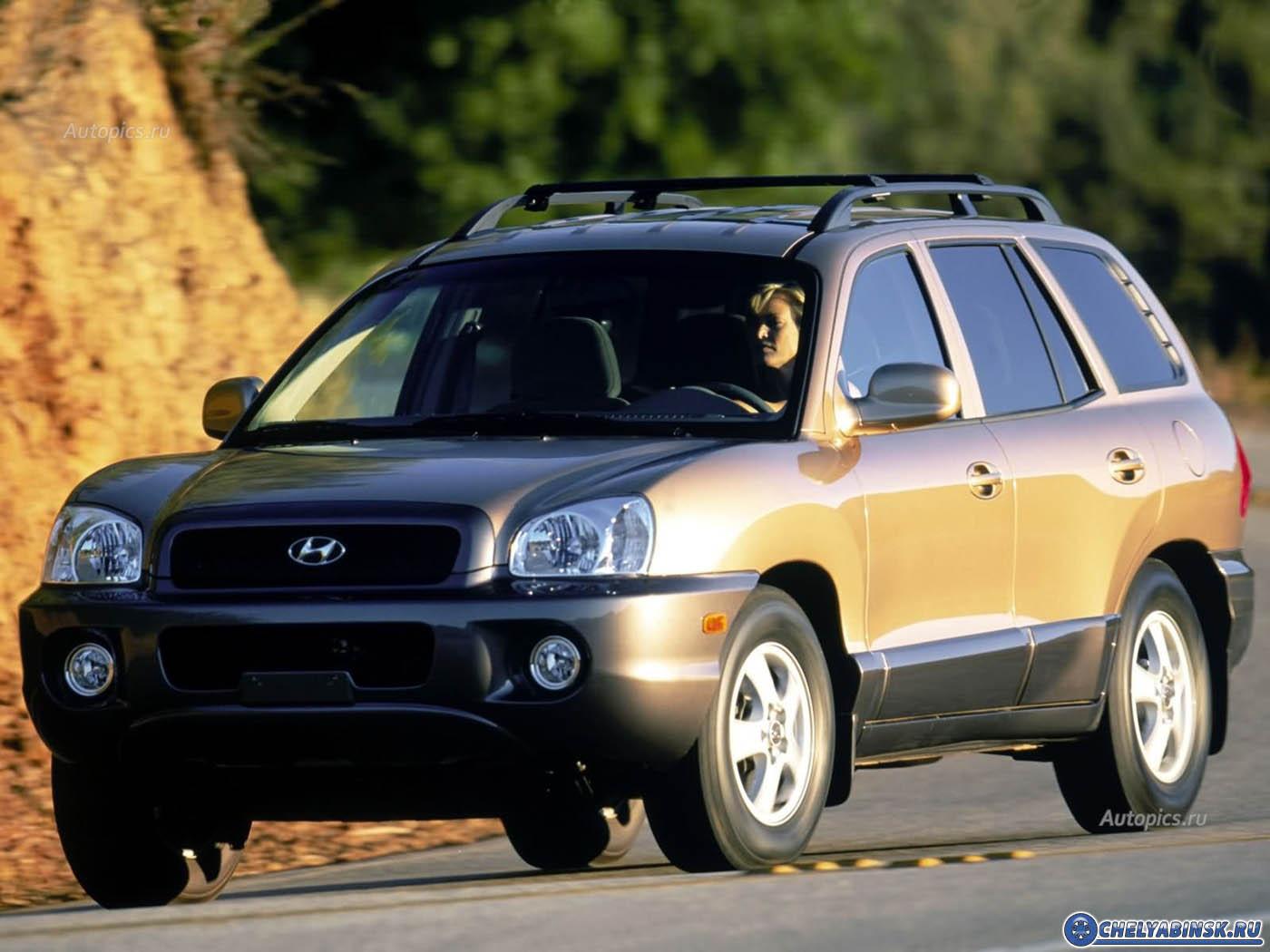 Hyundai Santa Fe 2.7i V6 24V 4WD