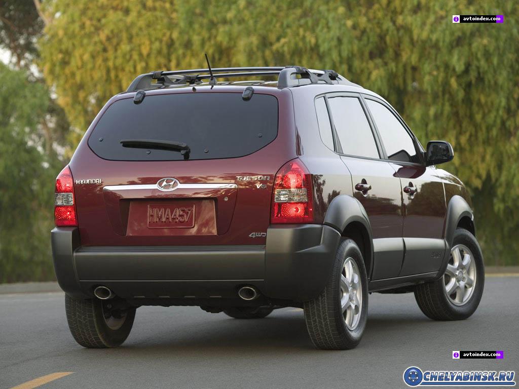 Hyundai Tucson 2.7i V6 4WD