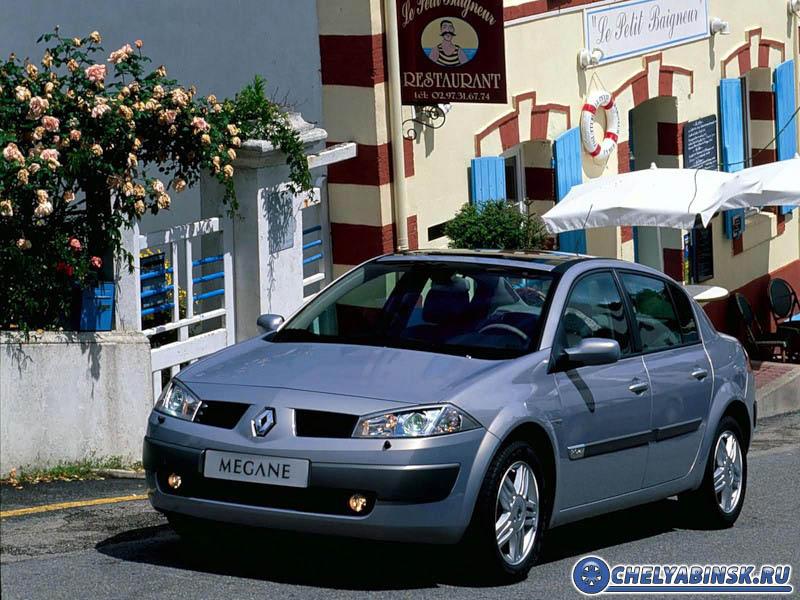 Renault Megane sedan 1.6 16V