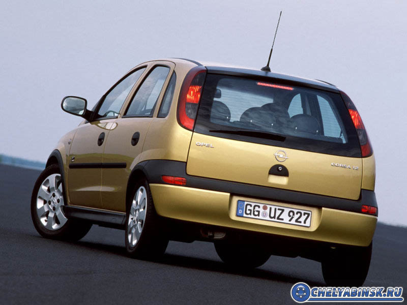 Opel Corsa 1.0-12V